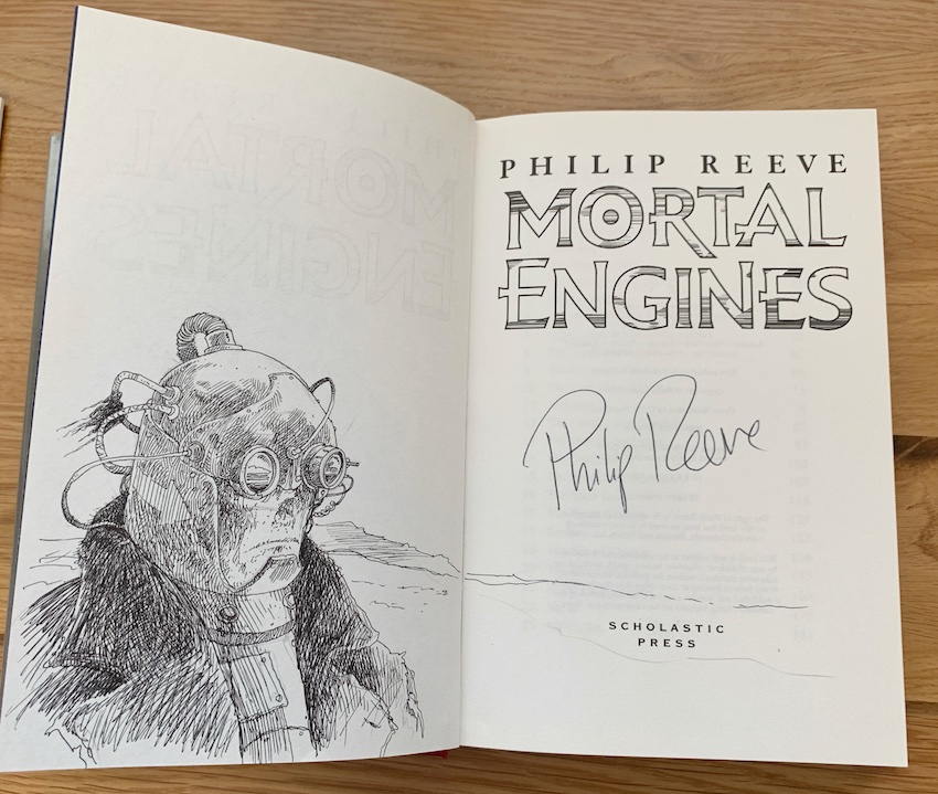 Image for MORTAL ENGINES - Remarqued & Signed First Edition