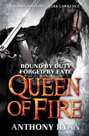 Image for QUEEN OF FIRE- Signed,Lined & Dated First Edition