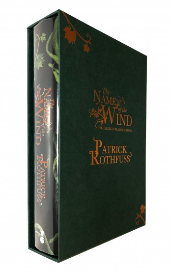 Image for THE NAME OF THE WIND - Signed, Limited, Illustrated, Numbered Edition.
