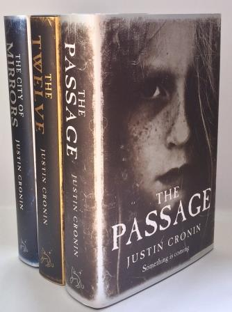 Image for The Passage Trilogy: THE PASSAGE, THE TWELVE & THE CITY OF MIRRORS - Signed First Edition Set with Promotional items.