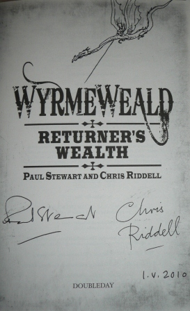 Image for WYRMEWEALD: RETURNER'S WEALTH Double Signed, Dated & Doodled UK First Edition