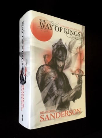 Image for THE WAY OF KINGS Signed, Lined & Dated UK First Edition Hardback