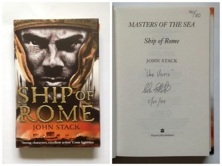 Image for SHIP OF ROME First Edition. Signed, Lined, Dated & Numbered with Letter of Provenance
