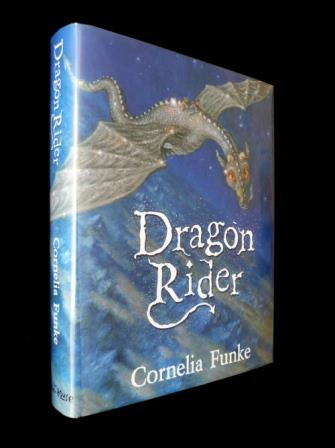 Image for DRAGON RIDER Signed First Edition with Red -end Papers, Plus Bookmark.
