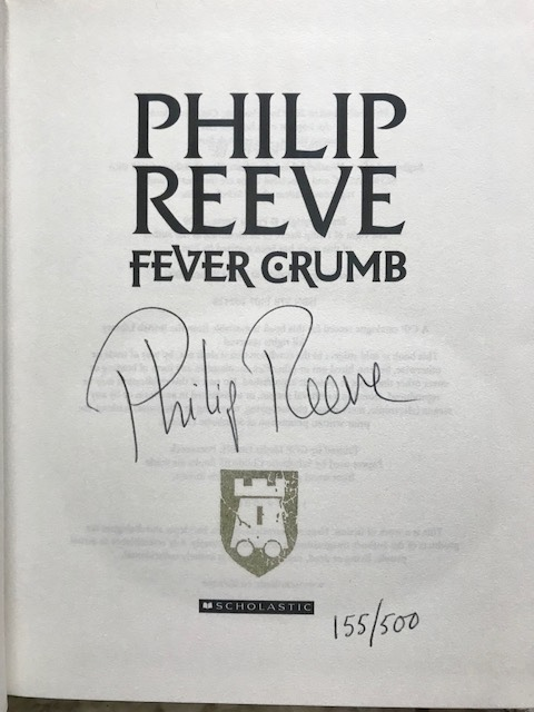 Image for FEVER CRUMB, A WEB OF AIR & SCRIVENER'S MOON Signed & Numbered Set of First Editions