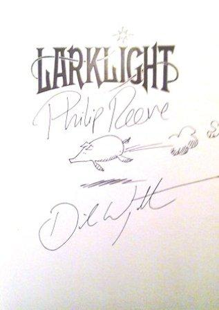 Image for LARKLIGHT Double Signed & Doodled First Edition