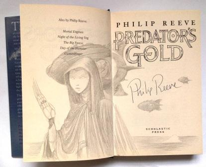 Image for PREDATOR'S GOLD - Signed & Remarqued First Edition