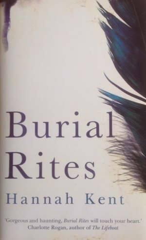 Image for BURIAL RITES Signed, Lined & Dated UK First Edition & Bookmark