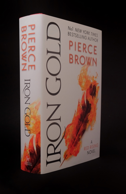 Image for IRON GOLD Signed & Lined UK First Edition