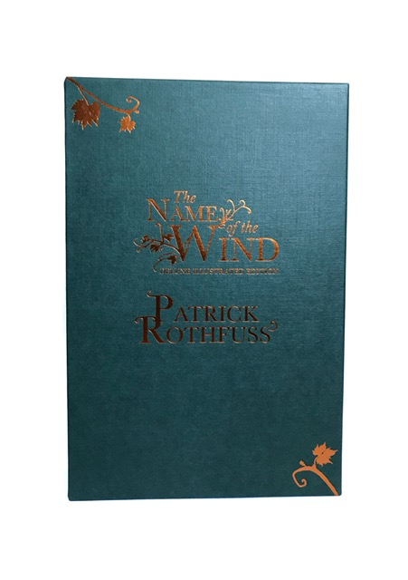 Image for THE NAME OF THE WIND Signed Limited Illustrated Edition 'PC' Copy