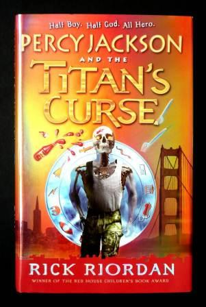 Image for PERCY JACKSON AND THE TITANS CURSE Signed UK First Edition