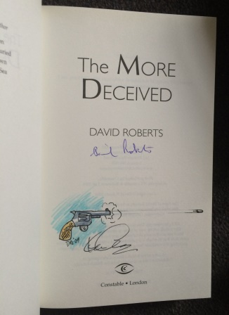 Image for THE MORE DECEIVED - Double signed and doodled first edition.