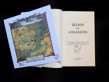 Image for BLOOD OF ASSASSINS Signed & Numbered  Limited Edition