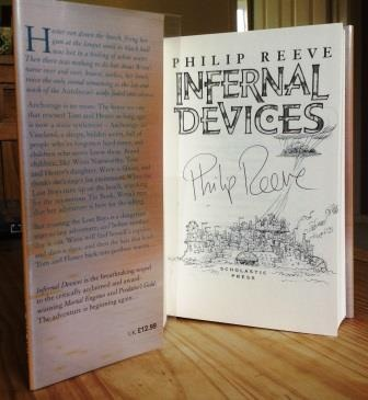 Image for Infernal Devices - Remarqued & Signed First Edition.