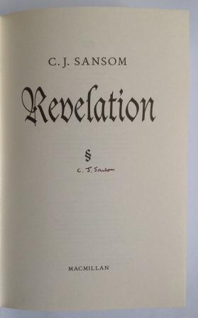 Image for REVELATION - Signed First Edition (with minor shelfwear & slight tanning to page edges)