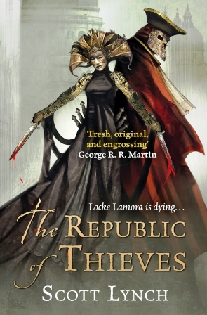 Image for THE REPUBLIC OF THIEVES Signed First Edition + Postcard & Bookmark