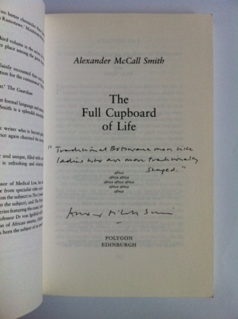 Image for THE FULL CUPBOARD OF LIFE - Signed & Lined First Edition.