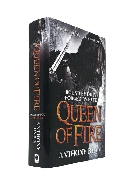 Image for QUEEN OF FIRE Signed First Edition