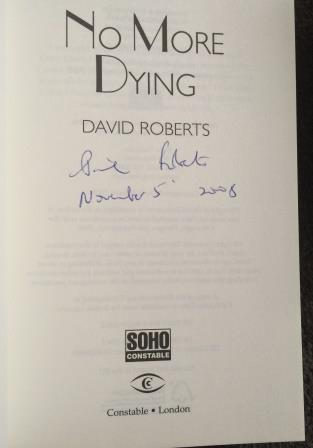 Image for NO MORE DYING - Signed & Dated First edition.