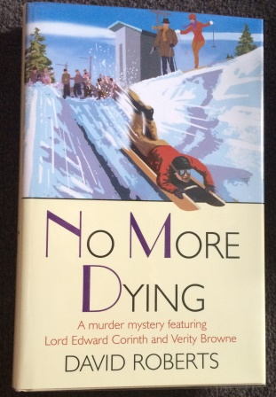NO MORE DYING - Signed & Dated First edition.