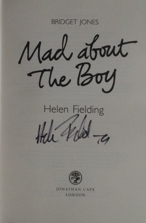 Image for BRIDGET JONES - MAD ABOUT THE BOY - Signed First Edition.