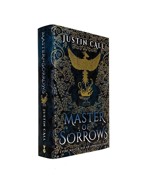 Image for MASTER OF SORROWS Signed & Multi-Lined UK First Edition