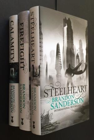 Image for Set of 3 Books: STEELHEART, FIREFIGHT & CALAMITY (THE RECKONERS TRILOGY)- Signed & Numbered First Editions.