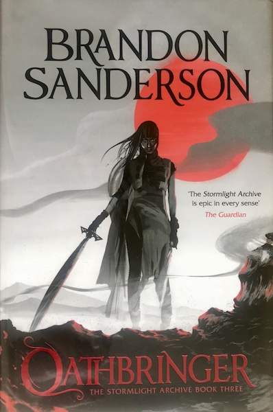Image for OATHBRINGER - Signed First Edition,  Limited, Numbered (out of 100).