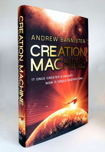 Image for CREATION MACHINE - Signed & Dated First Edition.