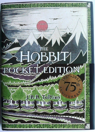 Image for THE HOBBIT Pocket Edition 75th Anniversary - First Edition with set of Hobbit Postcards.