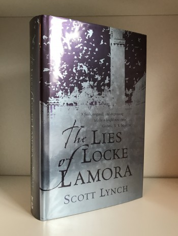 Image for THE LIES OF LOCKE LAMORA Signed & Doodled First Edition