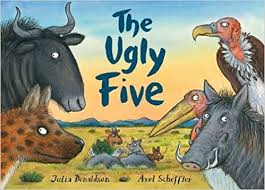 Image for THE UGLY FIVE Double Signed & Doodled First Edition