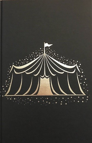 Image for CARAVAL Signed, Lined & Doodled UK First Edition - Circus Tent Hidden Cover Illustration