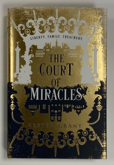 Image for THE COURT OF MIRACLES Signed Independent Bookshop First Edition