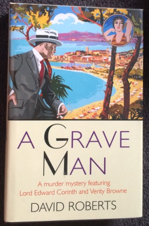 A GRAVE MAN - First edition. Signed & Doodled by the illustrator.