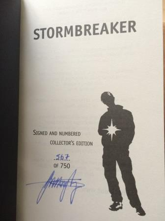 Image for STORMBREAKER Signed, Numbered Limited Edition.