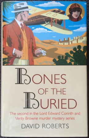 Image for BONES OF THE BURIED - Double Signed & Doodled First Edition + Signed Postcard