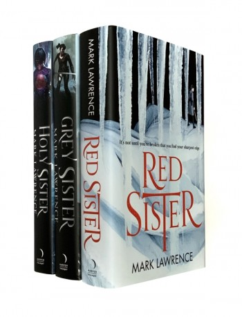 Image for BOOK OF THE ANCESTOR SERIES : RED SISTER, GREY SISTER & HOLY SISTER Signed, Lined & Dated First Editions