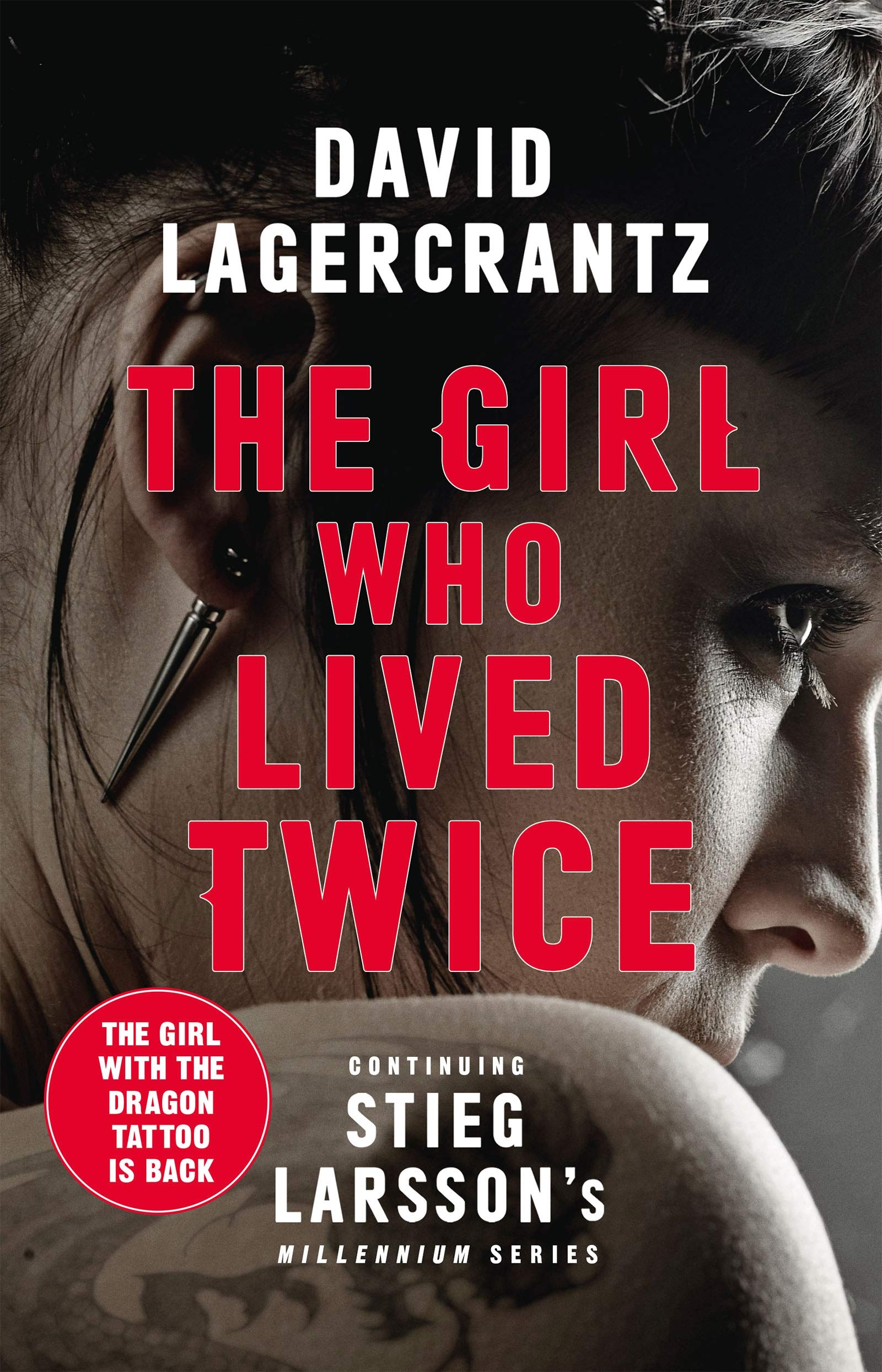 Image for THE GIRL WHO LIVED TWICE Signed First Edition with Red Edges