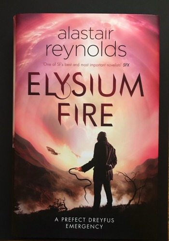 Image for ELYSIUM FIRE - Signed, Lined & Dated First Edition.