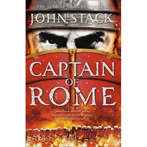 Image for CAPTAIN OF ROME Signed, Lined & Dated UK First Editions