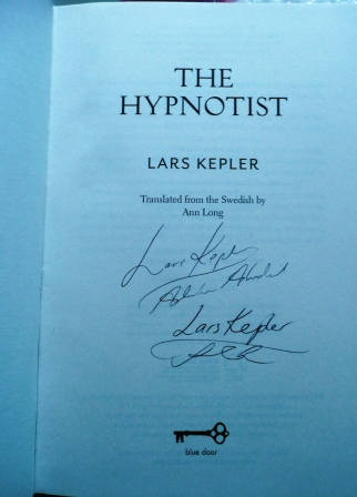 Image for THE HYPNOTIST Signed First Edition